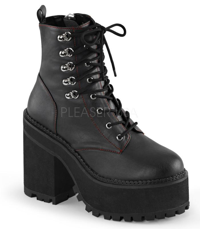 Demonia Assault Vegan Leather Boots - The Atomic Boutique  - 1