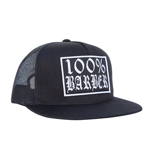 100% Barber Trucker Hat - The Atomic Boutique