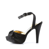 Strappy Adjustable Ankle Strap Pumps with Bow BETTIE-04 - The Atomic Boutique