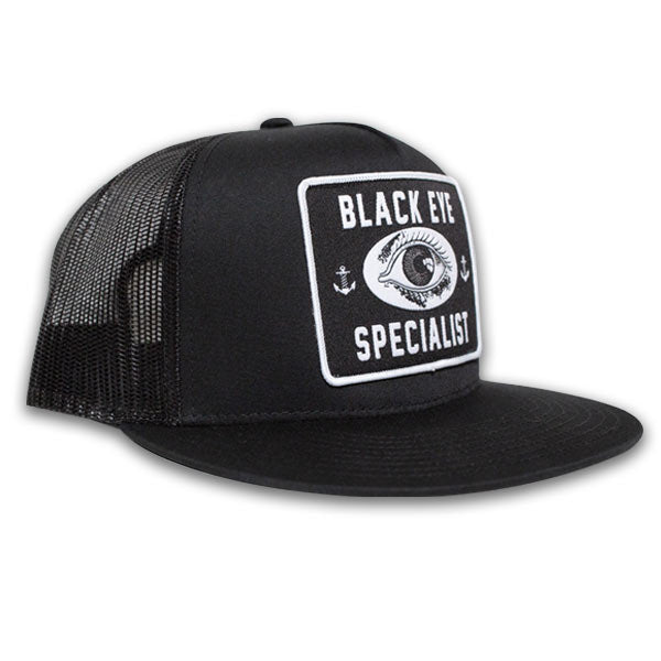 Black Eye Specialist Trucker Hat - The Atomic Boutique