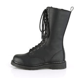 Fourteen Hole BOLT-300 Mid Calf Unisex Vegan Boots - The Atomic Boutique