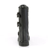 Fourteen Hole BOLT-330 Unisex Mid Calf Black Boots - The Atomic Boutique