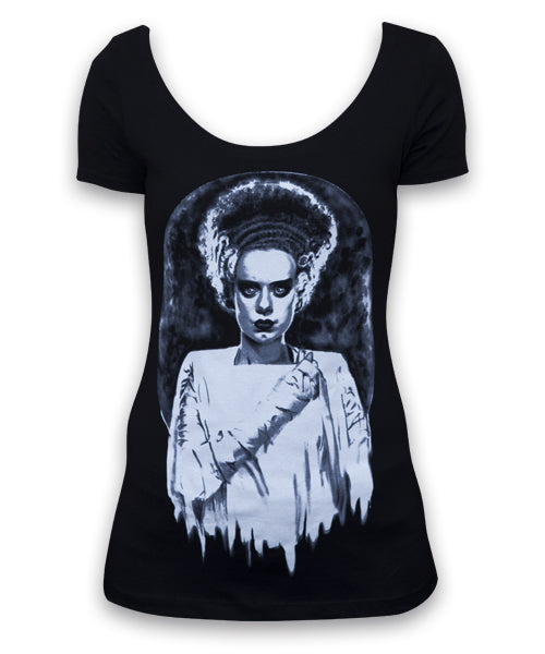 Monsters Bride Womens Scoop Neck Tee - The Atomic Boutique