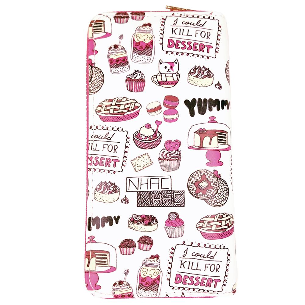 Bakery Print Wallet - The Atomic Boutique