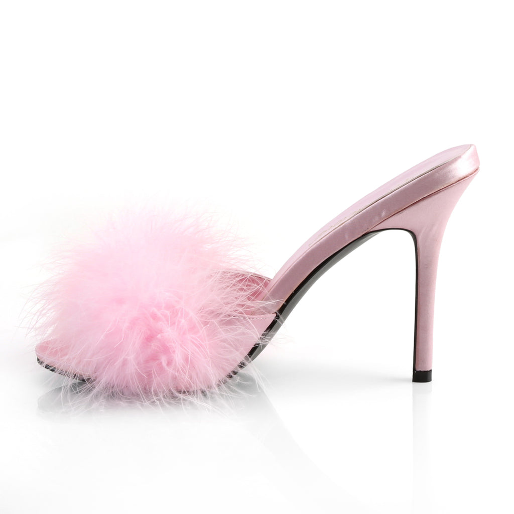 Pink Marabou CLASSIQUE-01F Fur Slipper - The Atomic Boutique