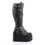Flower Embroidered Strap Boots CONCORD-110 - The Atomic Boutique