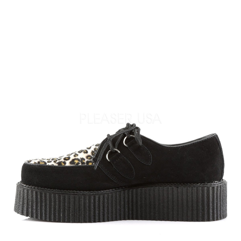 Demonia Leopard and Black Creepers - The Atomic Boutique  - 3