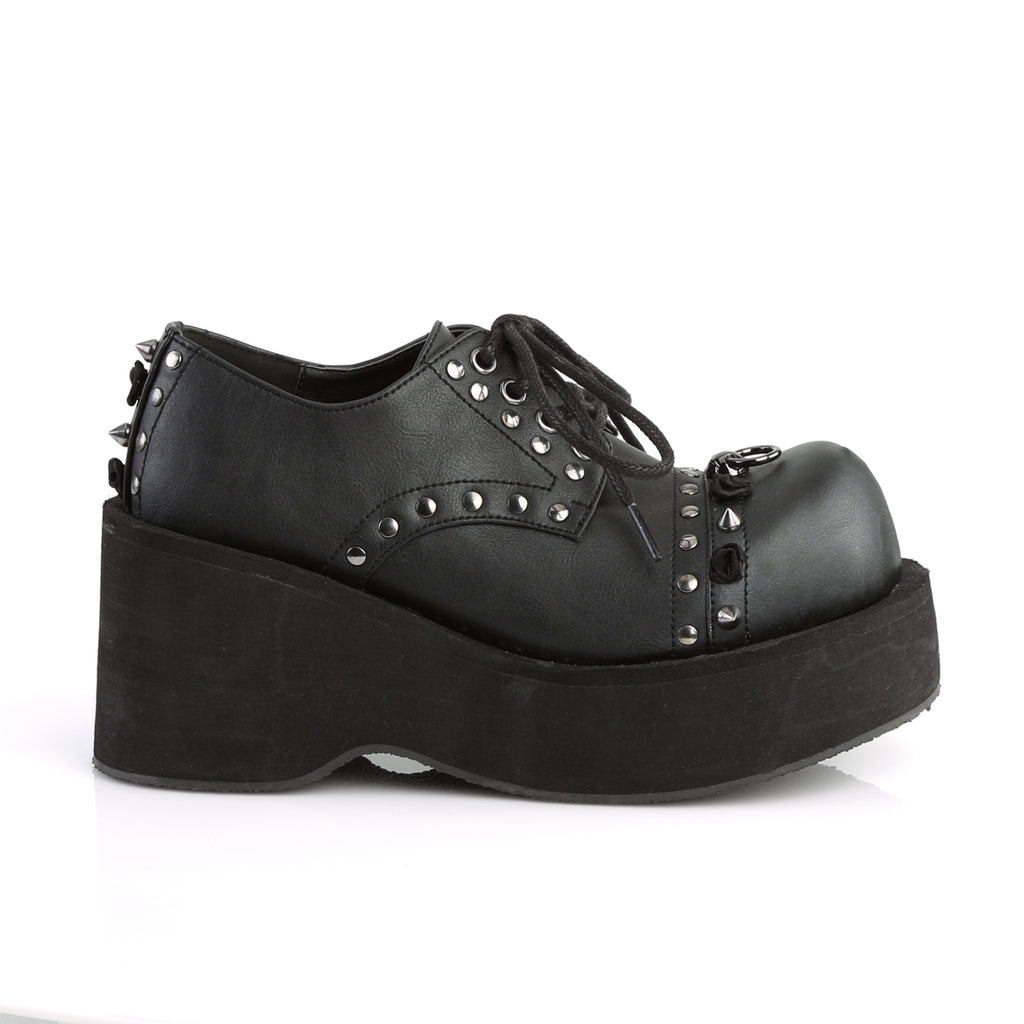 Oxford Lace Up Wedge Platform DANK-110 - The Atomic Boutique