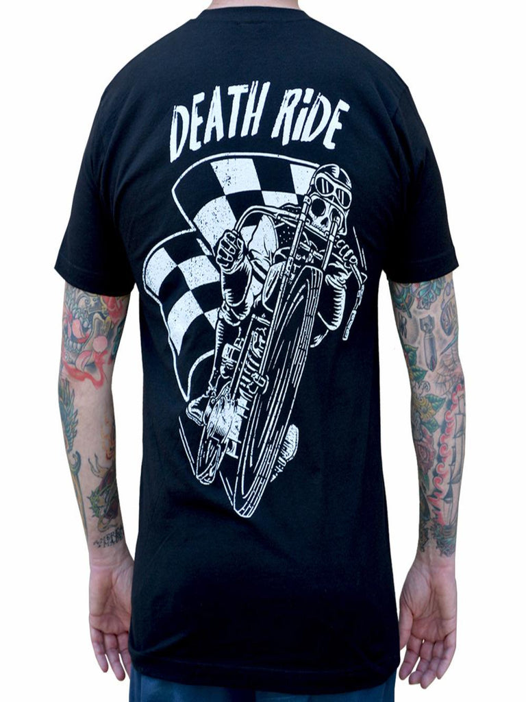 Death Motorcycle Ride Men's T-Shirt - The Atomic Boutique