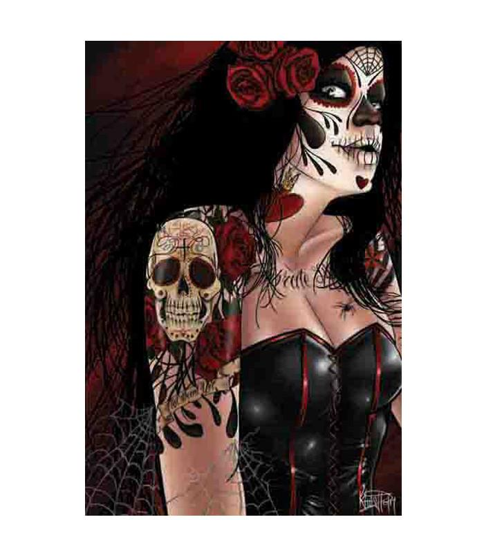Dia de los Muertos Art Print - The Atomic Boutique