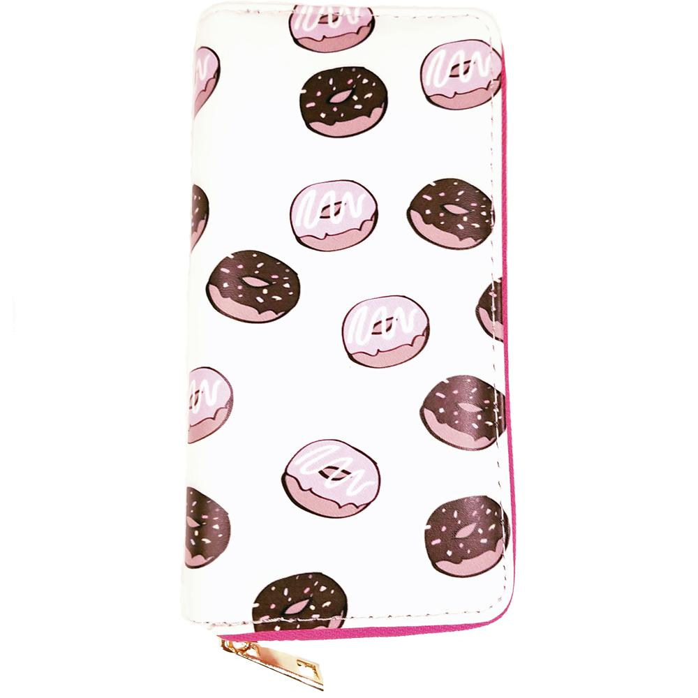 Atomic Apparel Donuts Print Wallet - The Atomic Boutique