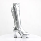 SILVER EXOTICA-2000 GOGO Boots - The Atomic Boutique