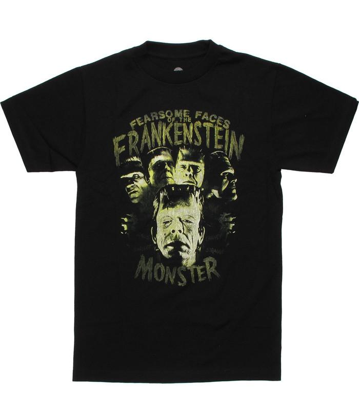 Mens Fearsome Faces Frankenstein T-shirt - The Atomic Boutique