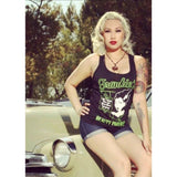 Pinky Star Frankies Beauty Parlour Tank Top - The Atomic Boutique