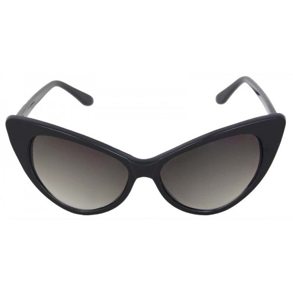 Ruby Cat Eye Sunglasses Black - The Atomic Boutique