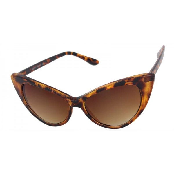 Ruby Cat Eye Sunglasses Tortoise - The Atomic Boutique
