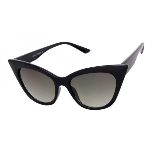 Eva Cat Eye Sunglasses Black - The Atomic Boutique
