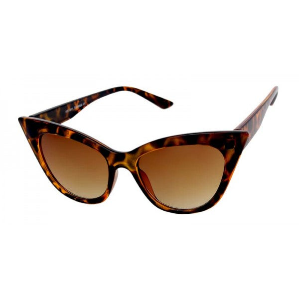 Eva Cat Eye Sunglasses Tortoise - The Atomic Boutique