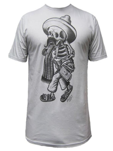 American Flag Punisher Skull Men's T Shirt