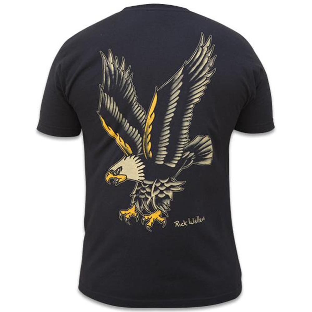 Eagle Print Men's T-Shirt - The Atomic Boutique