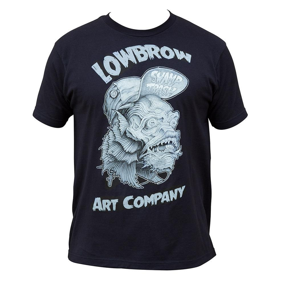 Swamp Trash Lowbrow Artwork Mens Tee - The Atomic Boutique