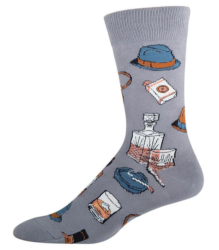 Socksmith Mens Vintage Fellow Crew Length Socks - The Atomic Boutique  - 1