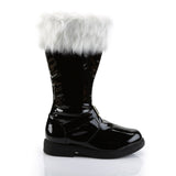 Mens Black Santa Boots - The Atomic Boutique