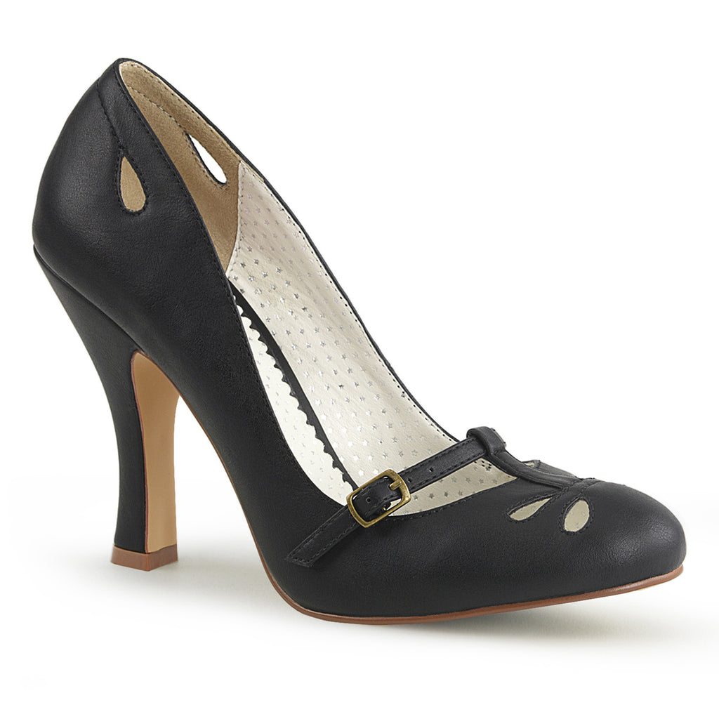 Instep Black Mary Jane Pumps SMITTEN-20 - The Atomic Boutique