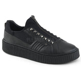 Zip Front Creeper Sneakers - The Atomic Boutique
