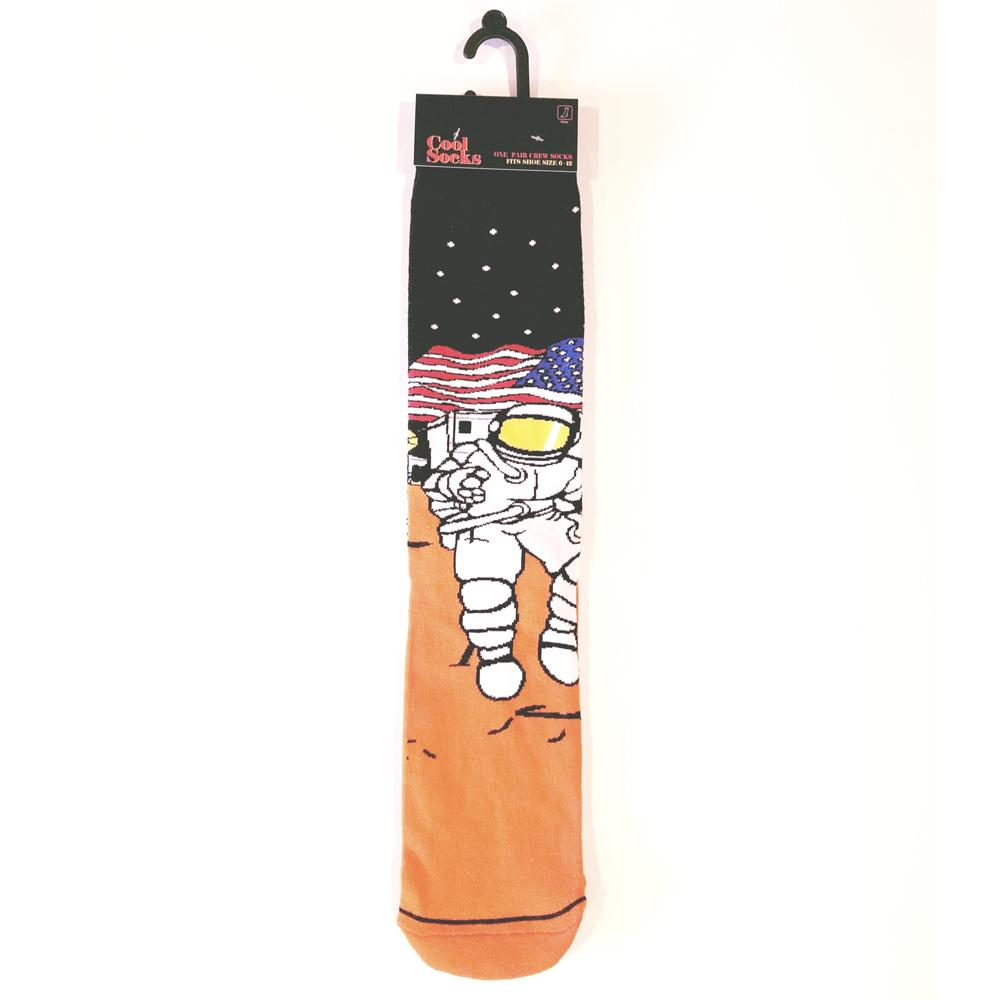 Men's Space Explorer Crew Length Socks
