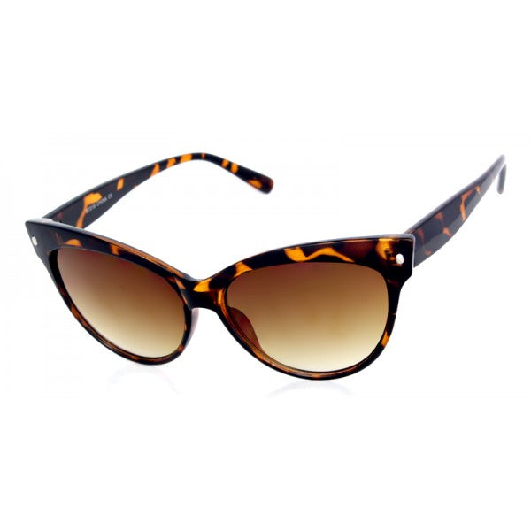 Bettie Cat Eye Sunglasses Tortoise - The Atomic Boutique