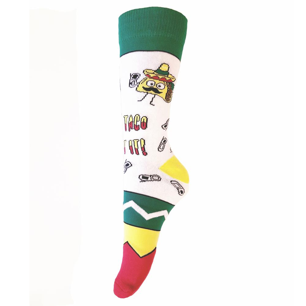 Let's Taco Bout It Men's Crew Length Socks - The Atomic Boutique