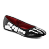 Funtasma Skeleton X-Ray Slip On Flats - The Atomic Boutique  - 1