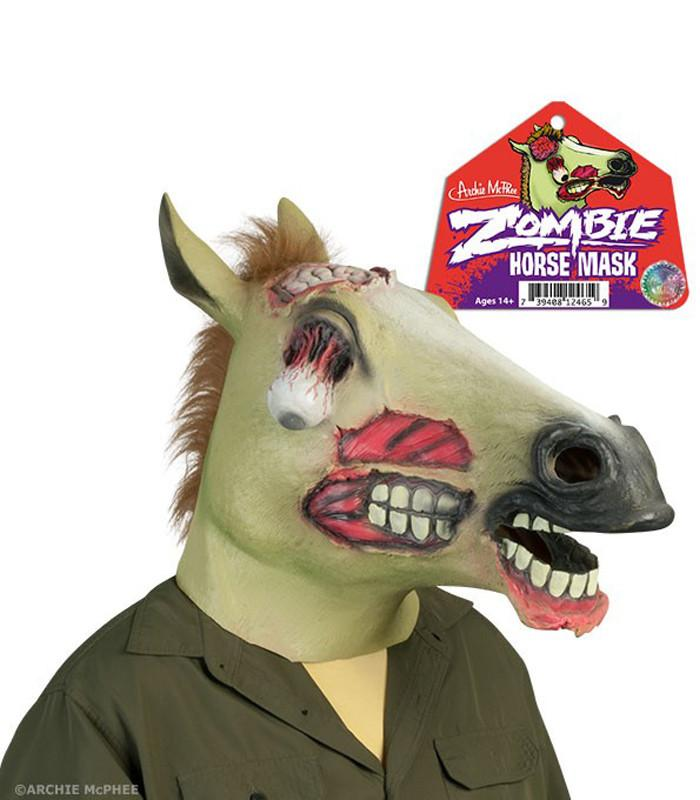 Zombie Horse Mask - The Atomic Boutique  - 1