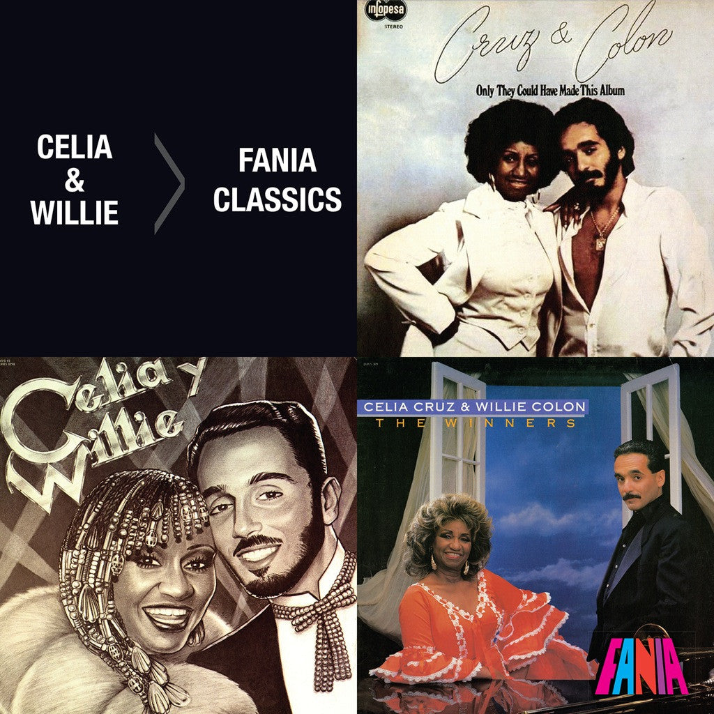 Fania Classics Celia Cruz Amp Willie Colon Fania