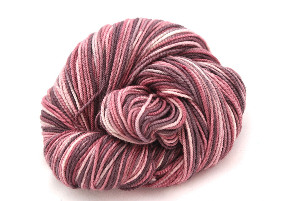 Granny's Attic hand-dyed worsted merino yarn
