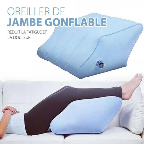 Coussin de Jambe Gonflable Portable