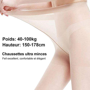 Bas Transparents Pleine Longueur Collants Renforcés - ciaovie