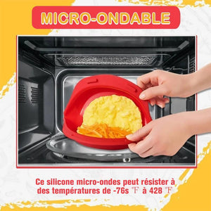 Fabricant d'Omelettes en Silicone pour Micro-ondes