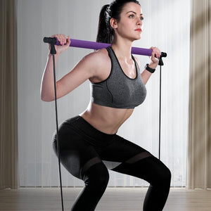 Kit de Barre de Pilates Portable