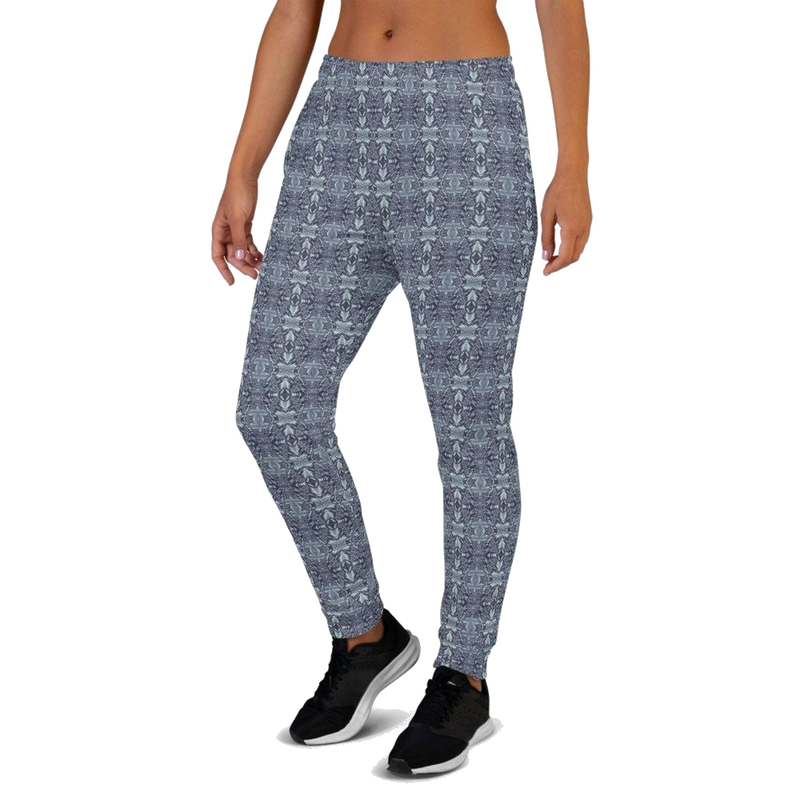 Product name: Recursia® Philosophy's Abode Series II Women's Joggers. Keywords: Athlesisure Wear, Clothing, Philosophy's Abode, Women's Bottoms, Women's Joggers