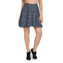 Product name: Recursia® Fabrique Unknown Series Skater Skirt. Keywords: Clothing, Fabrique Unknown, Skater Skirt, Women's Clothing