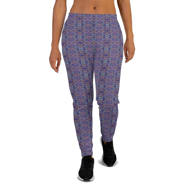 Product name: Recursia® Bohemian Dream Series II Women's Joggers. Keywords: Athlesisure Wear, Bohemian Dream, Clothing, Women's Bottoms, Women's Joggers