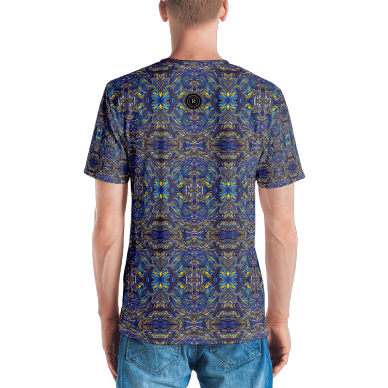 Product name: Recursia® Bohemian Dream Series Men's T-Shirt. Keywords: Bohemian Dream, Clothing, Men's Clothing, Men's T-Shirt, Men's Tops