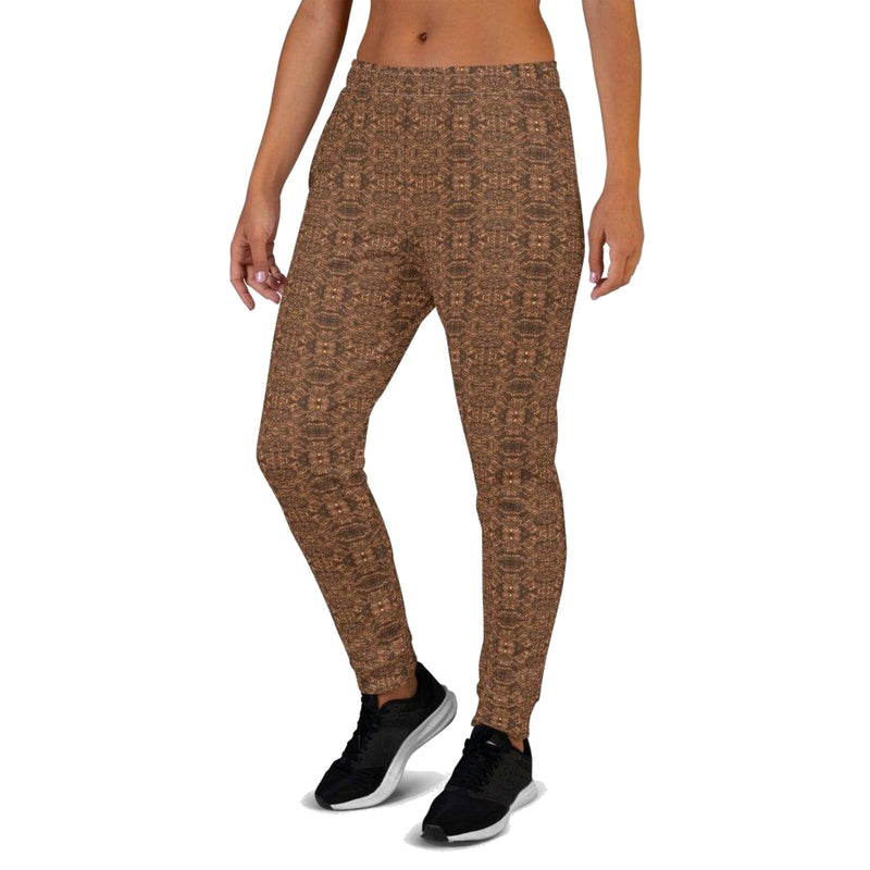 Product name: Recursia® Bohemian Dream Series Women's Joggers. Keywords: Athlesisure Wear, Bohemian Dream, Clothing, Women's Bottoms, Women's Joggers