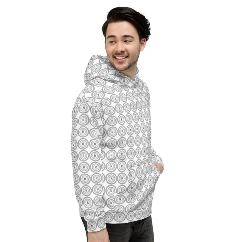 Product name: Recursia® Brand Series Men's Hoodie. Keywords: Athlesisure Wear, Brand, Clothing, Men's Athlesisure, Men's Clothing, Men's Hoodie, Men's Tops