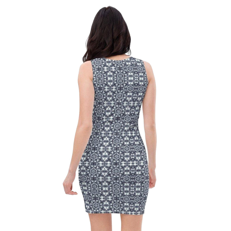 Product name: Recursia® Breckenridge High Series I Pencil Dress. Keywords: Breckenridge High, Clothing, Pencil Dress, Women's Clothing