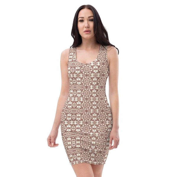 Product name: Recursia® Breckenridge High Series II Pencil Dress. Keywords: Breckenridge High, Clothing, Pencil Dress, Women's Clothing