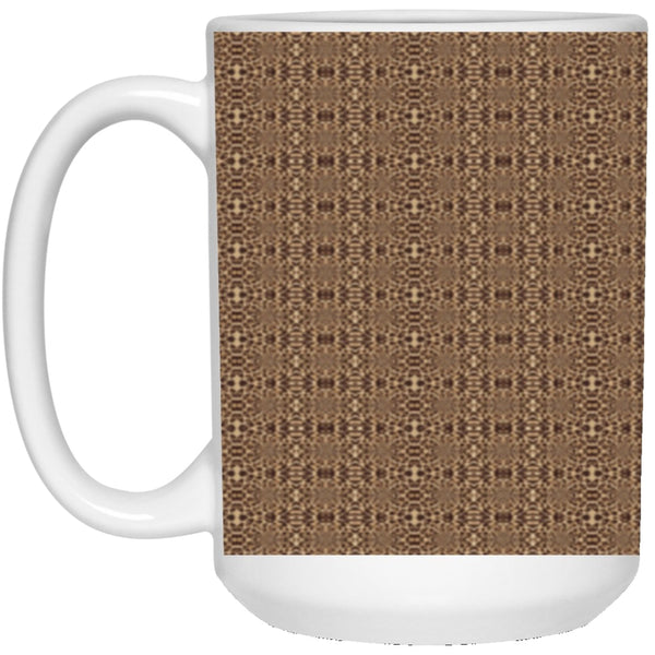 Product name: Recursia® Contemplative Jaguar Series Contemplative Jaguar Series 15 Oz. Large Mug. Keywords: 15 Oz. Large Mug, Contemplative Jaguar, Drinkware