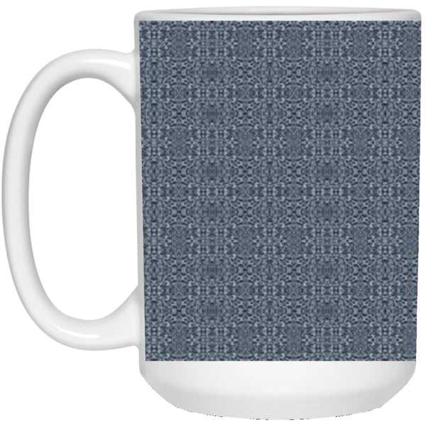 Product name: Recursia® Contemplative Jaguar Series V 15 Oz. Large Mug. Keywords: 15 Oz. Large Mug, Contemplative Jaguar, Drinkware
